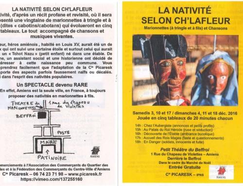 La nativité selon ch'Lafleur – Edition 2016